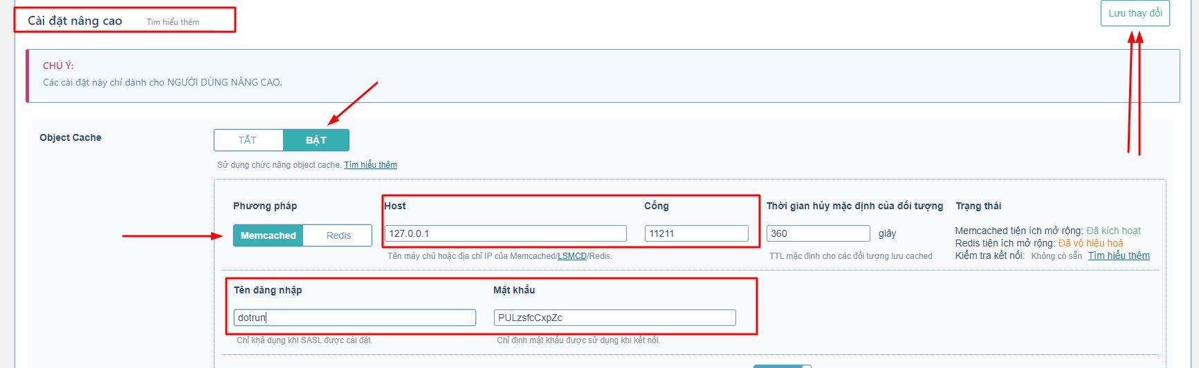 Hướng dẫn bật LSMCD User Manager và cấu hình