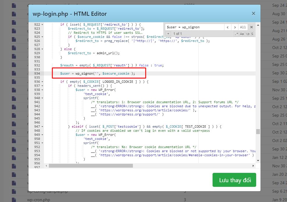Fix lỗi không đăng nhập được Wordpress sau khi chuyển mã nguồn