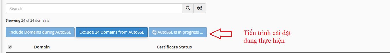 Let encrypt SSL CPanel