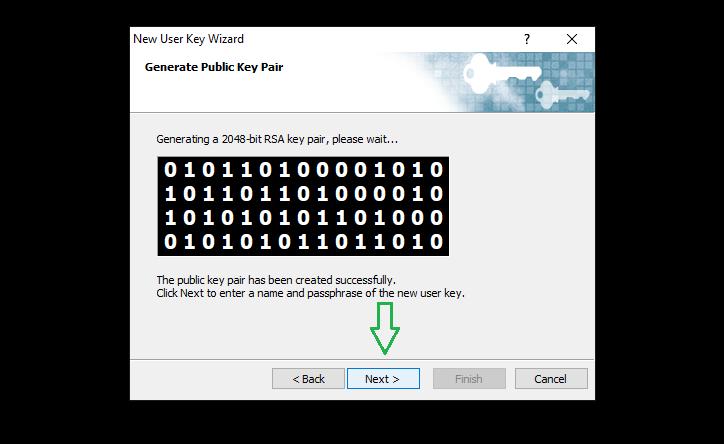 đăng nhập ssh key