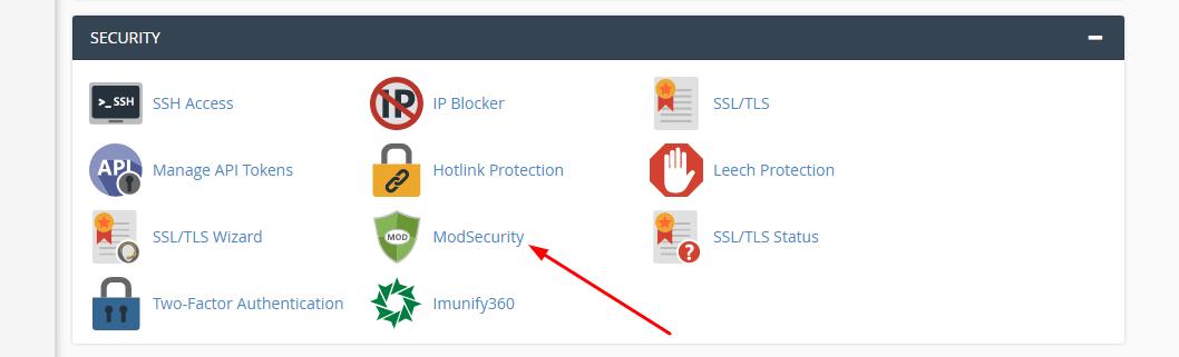 ModSecutity là gì? cách bật và tắt