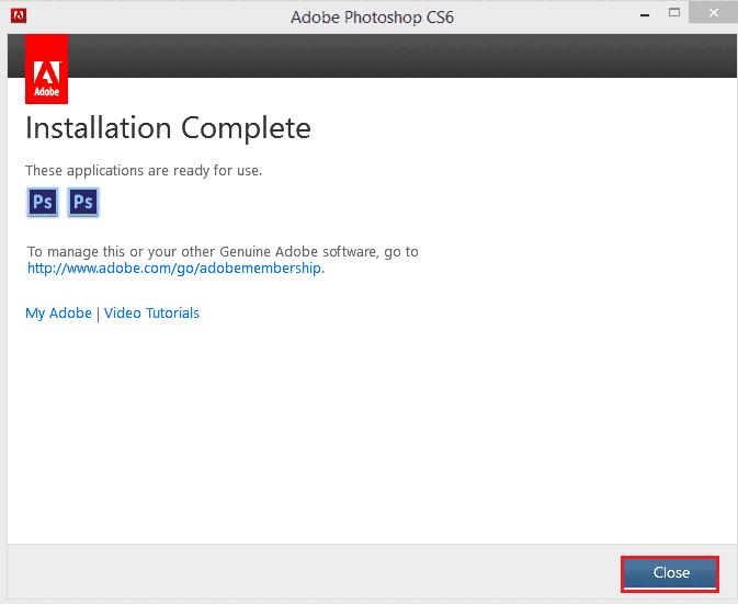 Hướng dẫn cài đặt Photoshop CS6 - Hình 6