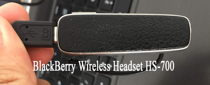 BlackBerry Wireless Headset HS 700