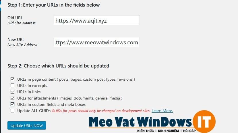 Velvet Blues Update URLs 2