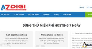 dùng thử hosting miễn phí