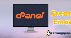 Tạo email trong Cpanel