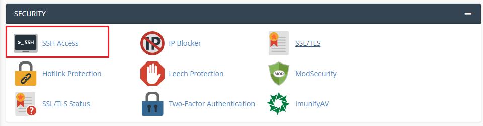 ssh hosting