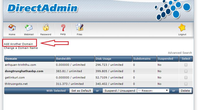 addon domain DA 2