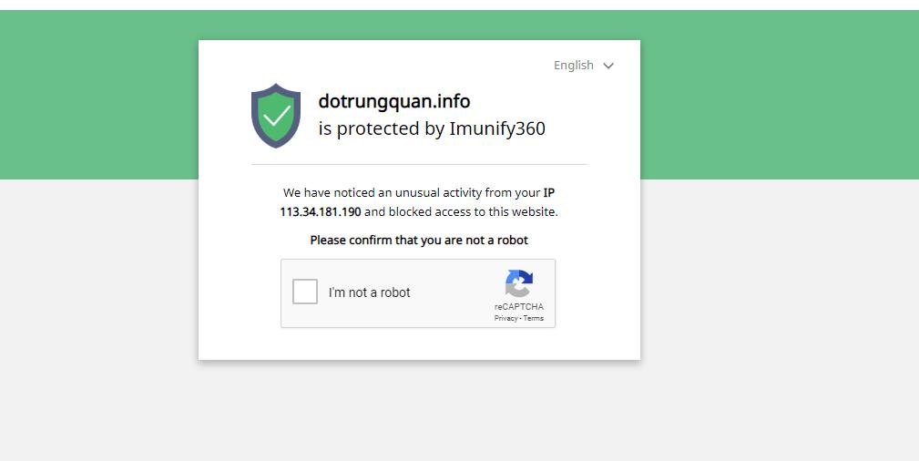 Imunify360 Block IPo