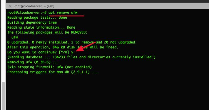 cài đặt CSF trên Ubuntu
