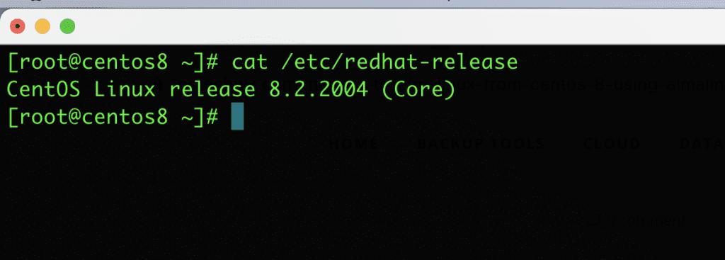 di chuyển CentOS 8 sang AlmaLinux