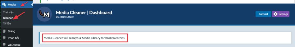 Fix lỗi không hiện ảnh trong thư viện Media WordPress