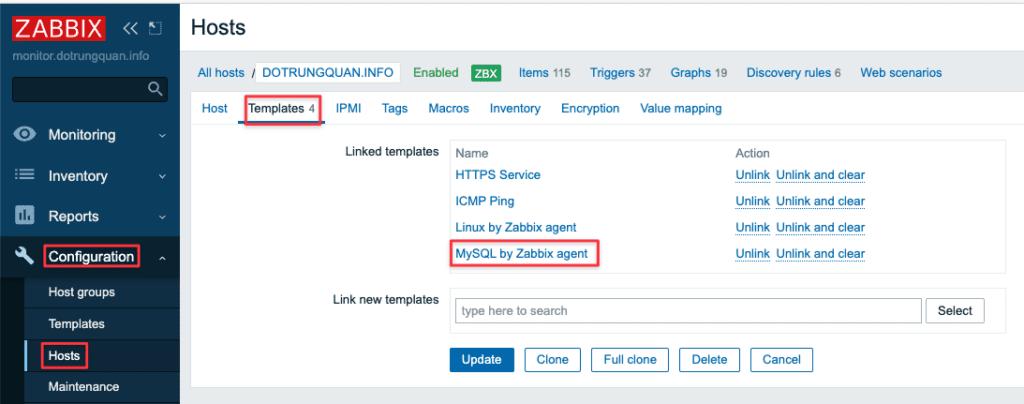 Hướng dẫn giám sát MySQL/MariaDB với Zabbix Agent