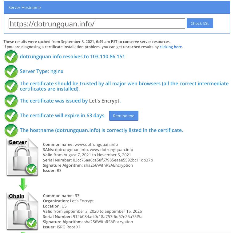 Giám sát chứng chỉ SSL của bạn với Zabbix