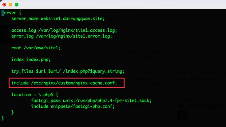 Cài đặt Nginx FastCGI Cache để tối ưu hoá thời gian phản hồi máy chủ
