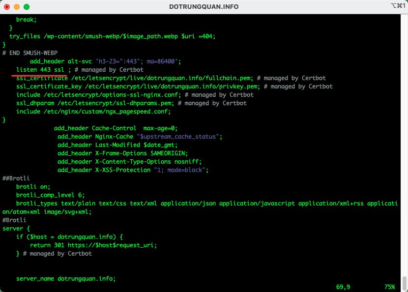 Hướng dẫn cấu hình HTTP/2 trên máy chủ NGINX
