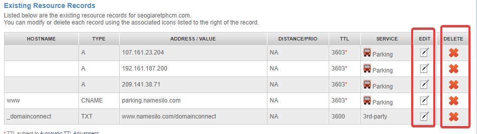 dns domain namesilo record 1