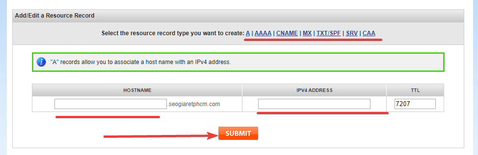 dns domain namesilo record 2