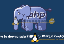 downgrade PHP7x to PHP5.6