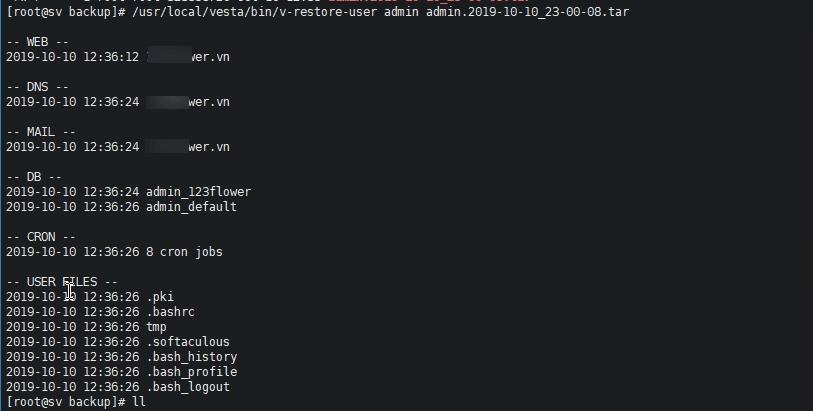 Hướng dẩn di chuyển dữ liệu người dùng VestaCP giữa các máy chủ